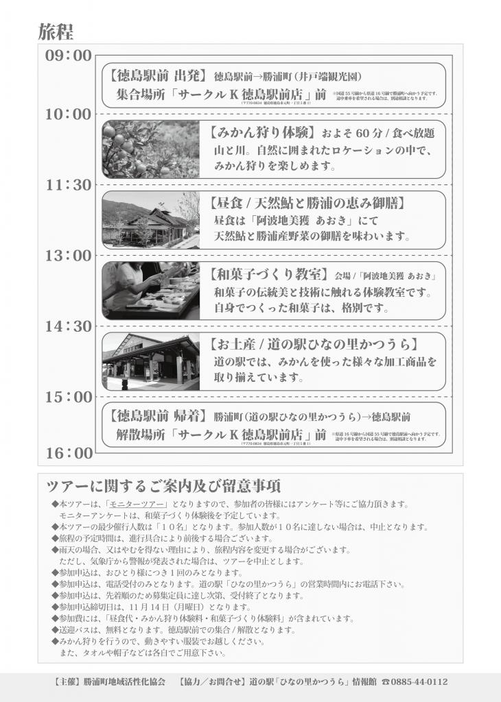 みかん狩りモニターツアー裏PDF